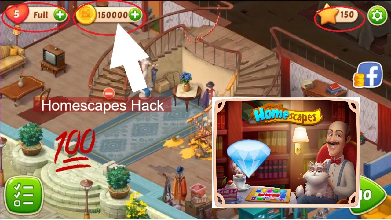 Homescape Hack Homescapes XYZ Homescape Hack Mod Apk With Generate
